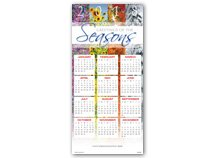 Yearlong Wishes Calendar Cards